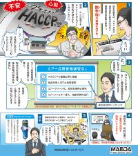 HACCP対応のエアー品質管理を目指す!!
