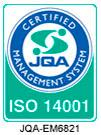 ISO 14001 JQA-EM6821